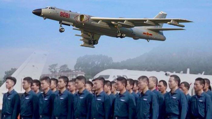 Pasukan Pengebom China Mulai Latihan Intensif di Laut China Selatan, Siap Hadapi Kemauan AS