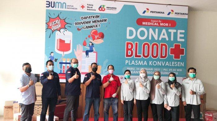 PT Pertamina Patra Niaga Peringati HUT ke-24 dengan Kegiatan Donor Darah & Donor Plasma Konvalesen