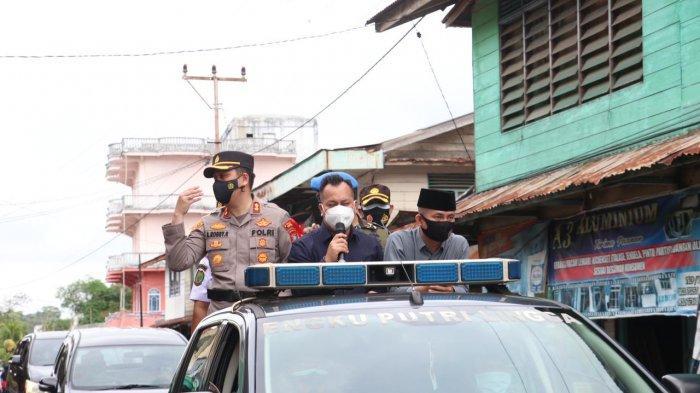 Bupati Lingga Pimpin Apel Pasukan Operasi Ketupat Seligi, Nizar Patroli Keliling Dabo