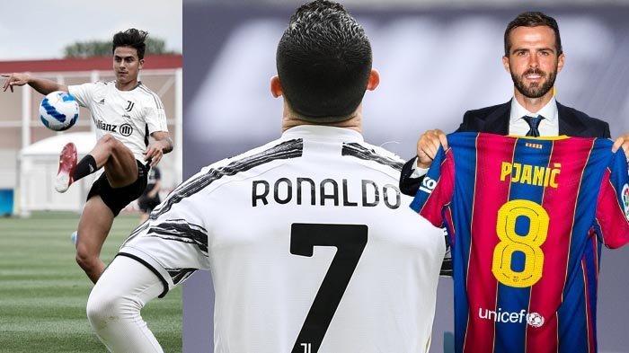 Transfer Juventus - Barcelona Lepas Miralem Pjanic, Tak Ada Ronaldo di Promosi Jersey Baru, Sinyal?