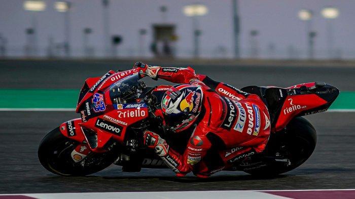 Hasil FP2 MotoGP Aragon 2021 - Jack Miller Tercepat, Bagnaia Kecelakaan, Rossi Urutan 18