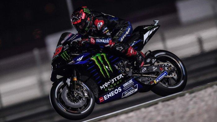 Pebalap Monster Energy Yamaha Fabio Quartararo finish di urutan 5 di MotoGP Qatar
