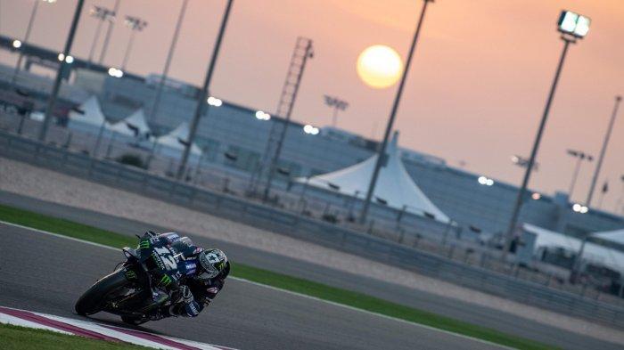 Hasil Test MotoGP Qatar Senin (24/2), Maverick Vinales Tercepat, Marc Marquez 7, Valentino Rossi 12