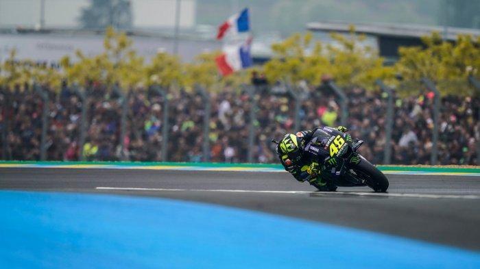 Gagal Naik Podium di MotoGP Prancis, Valentino Rossi Akui Kalah Cepat