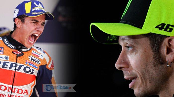MOTOGP PRANCIS - Valentino Rossi dan Marc Marquez Ungkap Strategi Saat Kualifikasi, Siapa Juara?