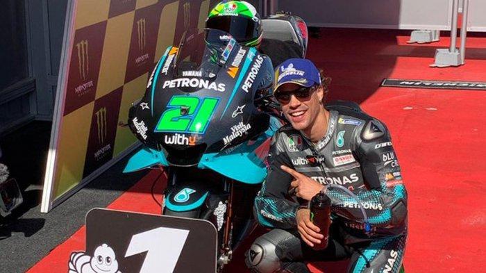 MOTOGP 2021 - Satu Tim dengan Valentino Rossi, Franco Morbidelli Tak Takut Bersaing dengan Sang Guru
