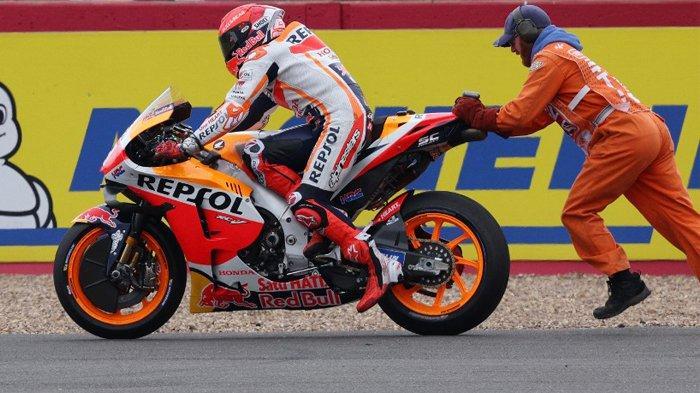 Link Live Streaming MotoGP Aragon 2021, Marc Marquez Ingin Lebih Cepat Setelah Gagal di Inggris