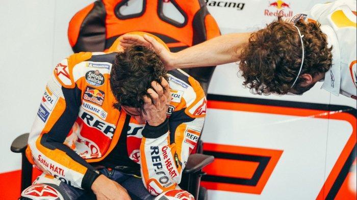 Cerita Marc Marquez Comeback dan Finish 7 di MotoGP Portugal: 5 Lap Terakhir Saya Hanya Duduk