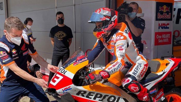 Jadwal MotoGP Jerman 2021, Marc Marquez Kerja Keras Selesaikan Masalah Motor Honda