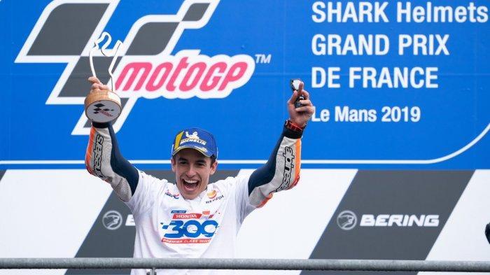 Klasemen MotoGP 2019 - Marc Marquez Kokoh di Puncak Disusul Dovizioso, Valentino Rossi Posisi 5