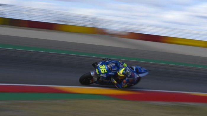 Hasil MotoGP Eropa 2020 Joan Mir Juara Baru, Motor Valentino Rossi Mogok