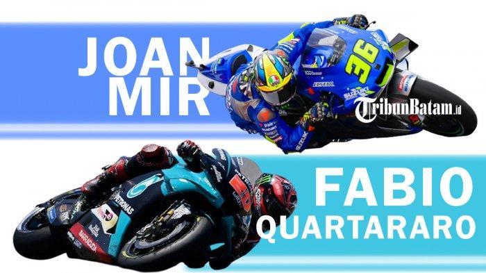 Jadwal MotoGP Prancis 9-11 Oktober, Arena Pertarungan Fabio Quartararo & Joan Mir untuk Gelar Juara?