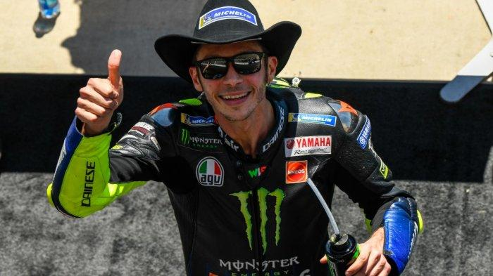MOTOGP PRANCIS - Valentino Rossi Merasa Yamaha Sangat Kompetitif, Siap Jegal Marquez?