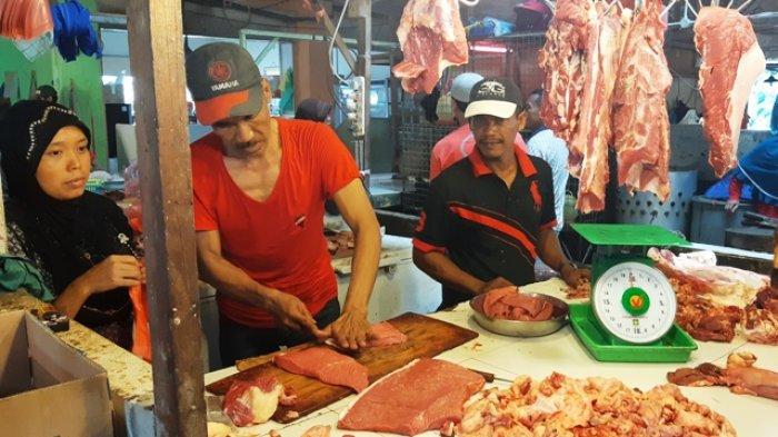 Daging Sapi Segar Tembus Rp 150 Ribu per Kg di Pasar Batam. Harga Sayur Juga Melonjak