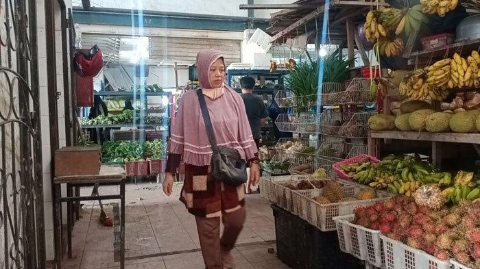 Curhat Pedagang Pasar PPKM Darurat Batam, Dwi Kuras Tabungan Demi Bertahan Hidup