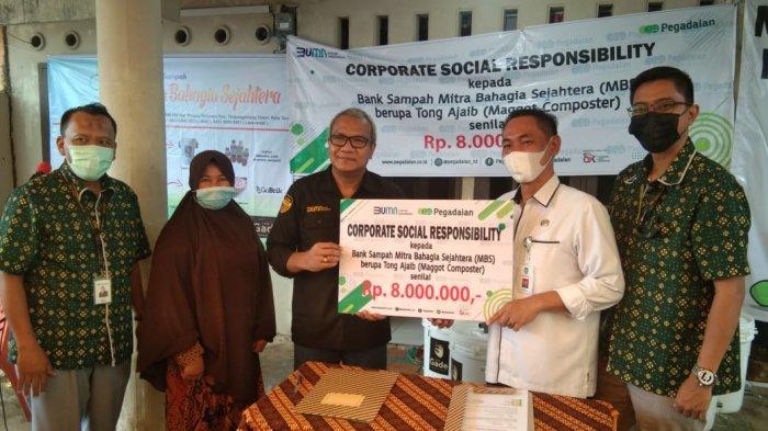 Ubah Sampah Jadi Emas, Pegadaian Gandeng Bank Sampah Mitra Bahagia Sejahtera Tanjungpinang