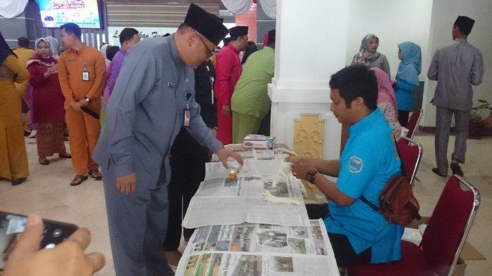 Pegawai di Setwan DPRD Batam Ramai-Ramai Tes Urine