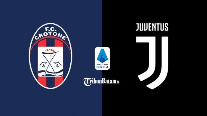 Live Streaming Crotone vs Juventus Liga Italia Malam Ini, Kick Off 01.45 WIB Live RCTI