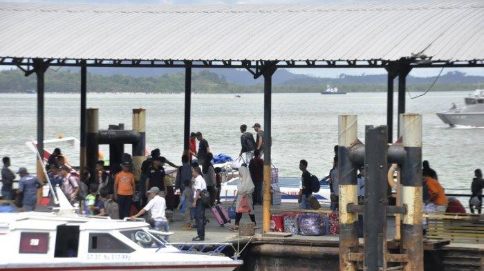 Lebaran Idul Fitri, Jam Keberangkatan Ferry Cepat di Pelabuhan Karimun Pindah Jam 10 Pagi