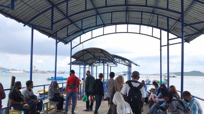 Berangkat 15 Menit Sekali, Penumpang di Pelabuhan Pancung Sekupang Meningkat saat Idul Fitri 1441 H