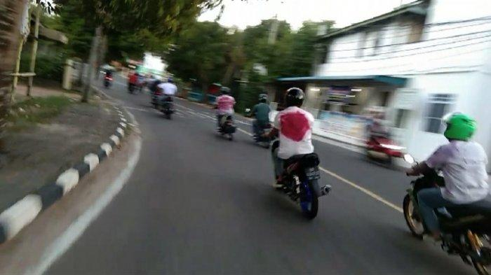 Pelajar Tanjungpinang Nekat Konvoi, Padahal Belum Pengumuman Kelulusan
