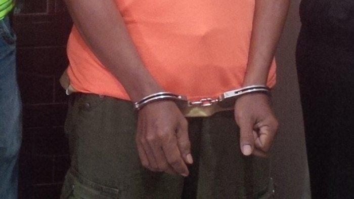 Polisi Tangkap Pemuda yang Sering Teror Warga Pakai Kapak Merah, Marah Karena Lapaknya Diambil