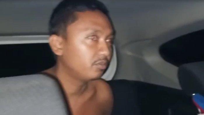 M, sopir travel yang merudapaksa penumpangnya ditangkap petugas Polres Labuhanbatu.
