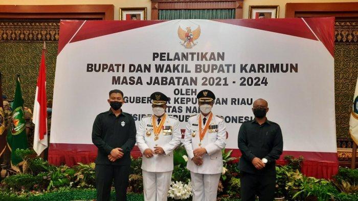 Pelantikan Bupati Karimun, Gubernur Kepri Minta Aunur Rafiq - Anwar Hasyim Tancap Gas