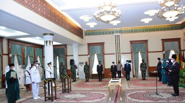 PELANTIKAN Bupati Natuna, Gubernur Kepri Tekankan Konsolidasi Capai Visi Misi