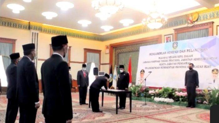 BREAKING NEWS - Sekda Kepri Arif Fadillah Turun Pangkat Jabat Kepala Dinas