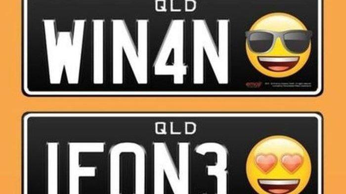 Unik, Negara Ini Perbolehkan Gunakan Emoji di Pelat Nomor, Seperti Stiker di WhatsApp