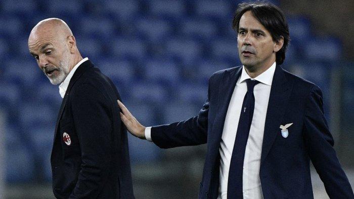 AC Milan Kalah Lawan Lazio, Ini Analisa Stefano Pioli Soal Wasit, VAR dan Peluang ke Liga Champions