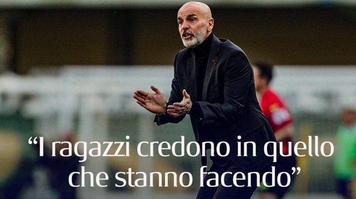 AC Milan Imbang Lawan Manchester United, Stefano Pioli: Saya Puas!
