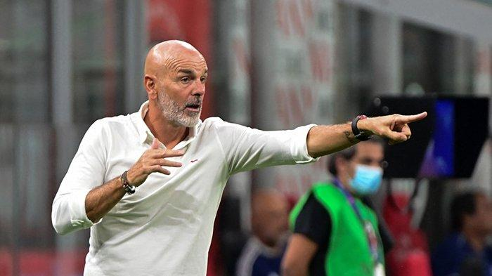 Jadwal Liga Champions 2021, Stefano Pioli Pilih Skuad AC Milan Untuk Redam Liverpool