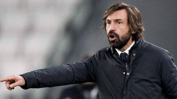 Pelatih Juventus Andrea Pirlo