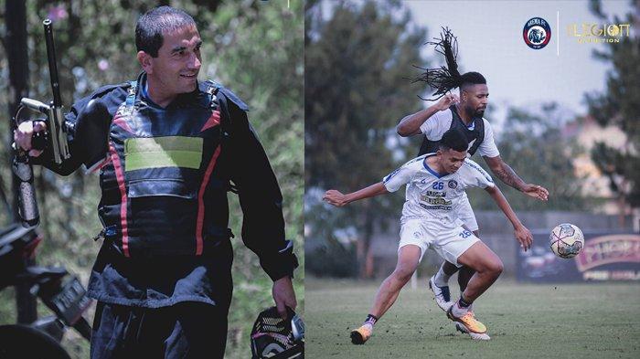 Jelang Arema FC vs Persija, Skuad Singo Edan Latihan 'Perang', Ikhfanul: Biar Lebih Kompak