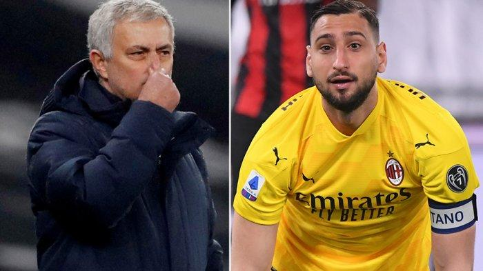 Transfer AS Roma, Jose Mourinho Siap Bawa Donnarumma ke Olimpico, Ronaldo? Casano: Tak Mungkin