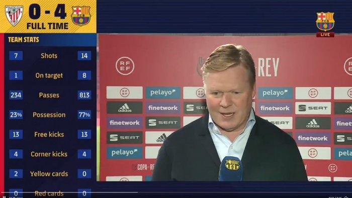Barcelona Juara Copa Del Rey, Ronald Koeman: Misi Selanjutnya La Liga, Berjuang Sampai Akhir