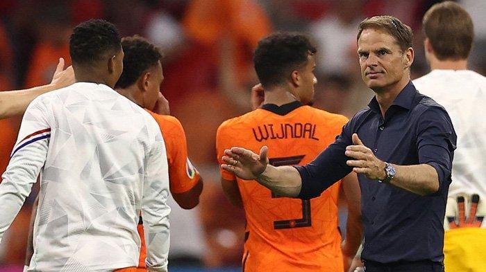 Belanda Menang Lawan Austria, Frank De Boer: Kami Menunjukkan Kualitas