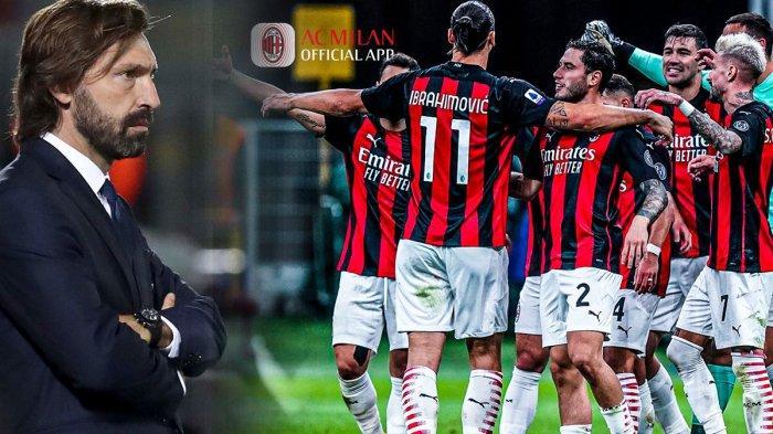 AC Milan Kuasai Klasemen Liga Italia, Pelatih Juventus Andrea Pirlo: Ini Medan Pertempuran Kami Siap - Tribun Batam