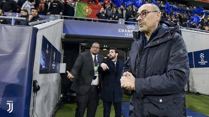 Juventus Kalah, Maurizio Sarri Frustasi: Juventus Terlalu Lambat Alirkan Bola