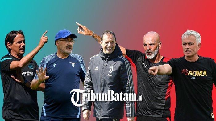 Jadwal Liga Italia, Ujian Jose Mourinho di AS Roma dan Juventus Besutan Massimiliano Allegri
