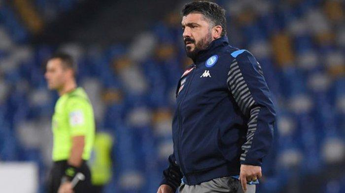 Napoli vs Juventus Live RCTI, Sakit Kepala Pikirkan Strategi, Gattuso Tiru Taktik Maurizio Sarri