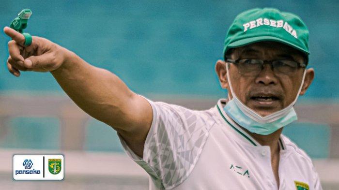 Persebaya vs Persipura, Aji Santoso Desak PSSI Pulangkan Pemain dari Timnas Indonesia