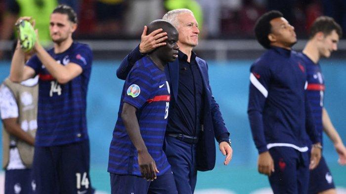 Prancis Kalah, Tersingkir di Piala Eropa 2020, Kylian Mbappe Minta Maaf, Deschamps: Saya Bersama Tim
