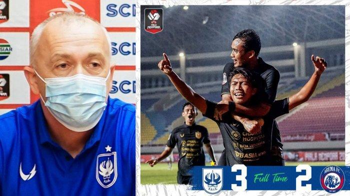 PSIS Semarang Menang, Lolos ke Perempat Final Piala Menpora 2021, Dragan: Kami Tak Pernah Menyerah
