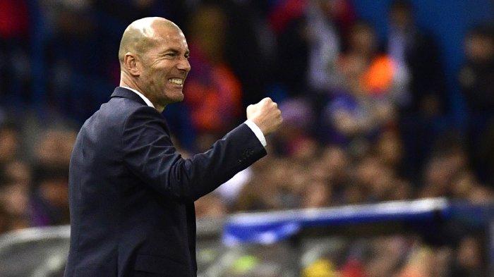 Ini Kata Zinedine Zidane Penyebab Real Madrid Kalah 1-2 dari Atletico Madrid