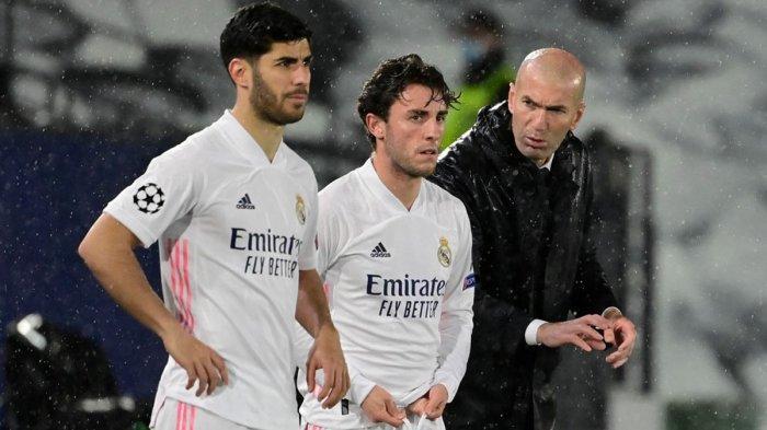 Real Madrid Imbang Lawan Chelsea, Zidane: Kami Harus Mencetak Gol di London, Semoga Ramos Bisa Main