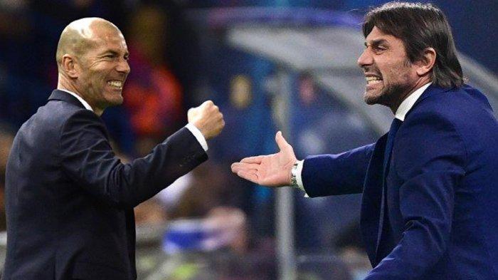 Rumor Transfer Pelatih, Zinedine Zidane ke Juventus, Antonio Conte Latih Madrid, Allegri ke Inter?