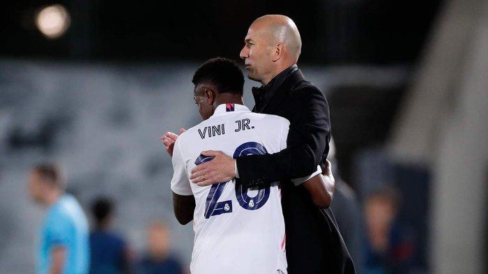 Real Madrid Menang Lawan Liverpool, Zidane: Masih Ada Leg 2, Kami Harus Berpikir Skor Masih 0-0